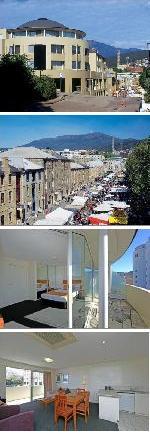 Salamanca Terraces Apartments Hobart